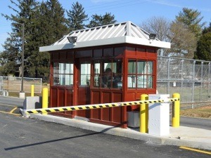 DHS Checkpoint Booth