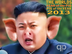 "Kim Jong Un: ""That's all folks."""